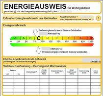 Bestellung von verbrauchsabhängigen Energieausweisen